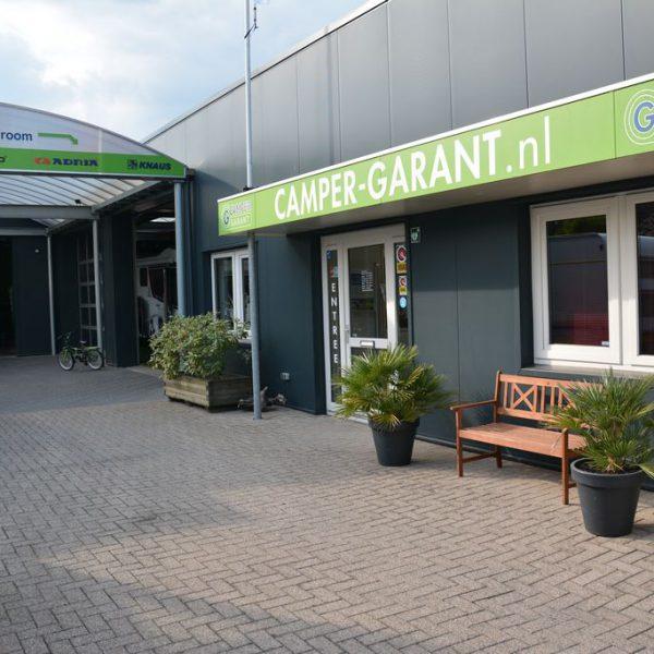 Van harte welkom in de showroom van Camper Garant in Vaassen
